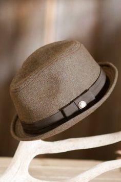 "Crawford Goorin Brothers Fedora Hat, BROWN, Size LARGE (23"" = size 7 3/8) Goorin Bros.. $39.00"
