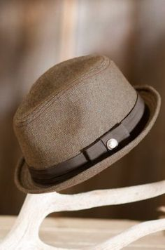 "Crawford Goorin Brothers Fedora Hat, BROWN, Size LARGE (23"" = size 7 3/8) Goorin Bros.. $39.00"