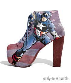 Captain America Shoes!