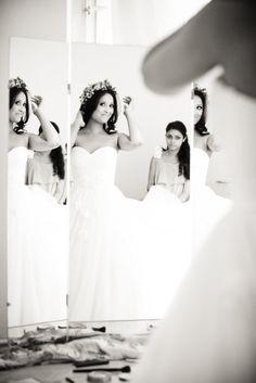 Die Braut bereitet sich vor. #braut #hochzeit #hochzeitsfoto