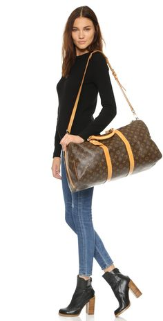 What Goes Around Comes Around Louis Vuitton Keepall (Previously Owned) | SHOPBOP