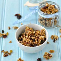 Crunchy Maple Granola Recipe