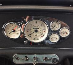 Seven Mini Parts( Mini Cooper Classic, Mini Cooper S, Classic Mini, Classic Cars, Mini Morris, Fiat 500, Dashboard Car, Dashboard Template, Car Interior Design