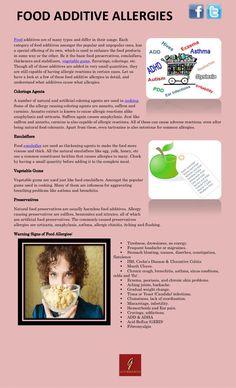 food-additive-allergies by Cody Bosh via Slideshare
