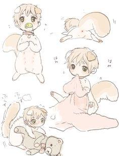 Is squirrel Arthur humping a teddy bear?