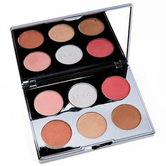 Becca Apres Ski Glow Face Palette Review, Photos, Swatches  ||  Becca Apres Ski Glow Glow Face Palette ($54.00 for 0.54 oz.) contains two blushes, one bronzer, and three highlighters. Two shades--Icicle and Winter Berry https://www.temptalia.com/becca-apres-ski-glow-face-palette-review-photos-swatches/?utm_campaign=crowdfire&utm_content=crowdfire&utm_medium=social&utm_source=pinterest