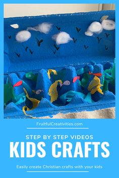 Teach your children about Jesus in a creative way with these step by step crafting videos. #christianparenting #kidscrafts #biblecrafts Christian Crafts, Christian Kids, Bible Crafts For Kids, Easy Crafts For Kids, Sunday School Activities, Indoor Activities For Kids, Christian Parenting, Crafting, Teaching