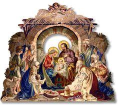 Svatava's Nativity — courtesy of Svatava Vizinová of Zábrdské Betlémy Crèche Museum — is yours as a free download.