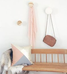 Mint Interior Design On Instagram TGIF Cushions Reindeer Hides Wall Hooks All
