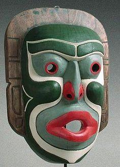 Mask.....Kwakiutl Indian Mask Pacific Northwest Coast, North America by carolina