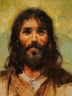 CMDudash - Available Paintings - Pictures Of Jesus Christ, Bible Pictures, Jesus Son Of God, Jesus Second Coming, Jesus Photo, Bible Illustrations, Jesus Face, Prophetic Art, In Christ Alone