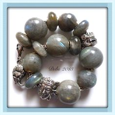 Labradorites and silvers from RBF By Deborah Taylor