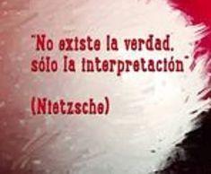 Friedrich Nietzsche invita, con esta definición, a no tomar como única la que se cree propia verdad, ni la opinión , sino a considerarla una mirada, una construcción parcial. Todos percibimos desde...