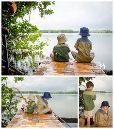 boys fishing children photography