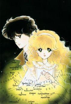 """Art from """"Alpine Rose"""" series by manga artist Michiyo Akaishi."""