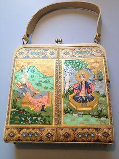 Delill double frame purse