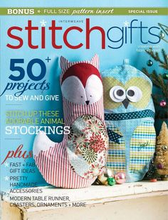 Interweave stitch magazine gifts 2014 by Mary Lopez Puerta - issuu