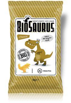 Γαριδάκια Δεινόσαυρος με Τυρί (χ. γλουτένη) - 50g