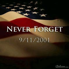 We remember every single sensory detail of that day when we hear and saw the news. It's a moment in our history that we will never forget. We Remember, Always Remember, Remembering September 11th, September 9, Voyage Usa, Patriots Day, We Will Never Forget, Don't Forget, Thoughts