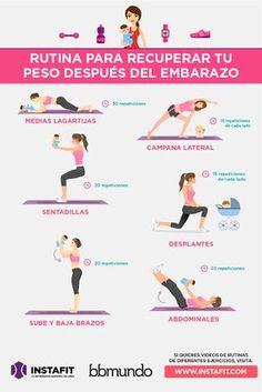 6 formas de hacer ejercicio con tu bebé   bbmundo