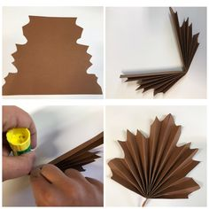 Diy And Crafts, Paper Crafts, Papier Diy, House Outside Design, Giant Paper Flowers, Autumn Crafts, Flower Template, Robot Art, Kirigami