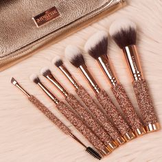 Makeup brushes morphe make up trendy ideas Makeup Geek, Cute Makeup, Skin Makeup, Makeup Inspo, Makeup Inspiration, Makeup Tips, Dior Makeup, Cheap Makeup, Makeup Addict
