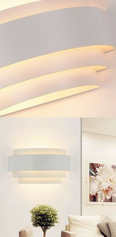 722e51609a26 Unimall LED Wall Lights Up Down Beside Wall Sconce E27 Lamp for Living Room  Bedroom Corridor