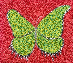 Yayoi Kusama – Butterfly, 1988