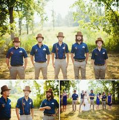 Old world meets modern country your groom and his boys