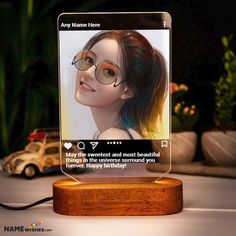 Personalized Birthday Gift - Instagram LED Frame. Instagram post like personalized birthday gift led frame is the best choice to send a gift online to anyone. Make friend's birthday wish unique with this.