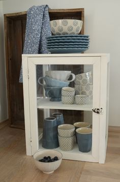 Lovely Shabby Style by Ib Laursen from Denmark for kitchen.