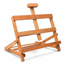 This I Love Art Artists' Table Easel is ideal not only for painting where space is limited but can also be used for exhibitions and as a reading lectern Table Easel, Art Easel, Shops, Wooden Easel, Starter Set, Outdoor Chairs, Outdoor Decor, Love Art, Art Supplies