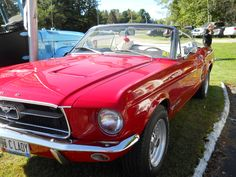 Ford Mustang Convertible Car,,yes please,red would be just fine...☺♥ -- Curated by: Williams Automotive | 1790 KLO Rd. Kelowna | 250-860 2812
