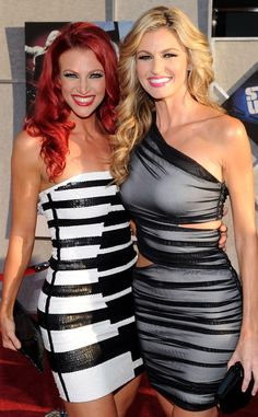 Kendra & Erin Andrews from Stars' Sexy Siblings  The ESPN reporter and her sister make a dynamic duo.