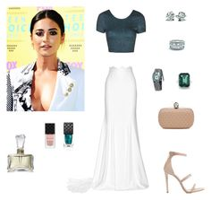 Без названия #1236 by gvarjusha on Polyvore featuring Topshop, Rime Arodaky, Tamara Mellon, Alexander McQueen, Breguet, Norell, Gucci, women's clothing, women's fashion and women