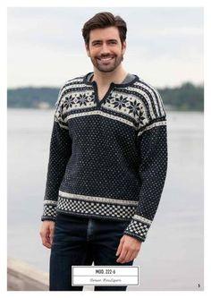 ISSUU - Rauma Design Voksen 222R by Rauma Ullvarefabrikk Men Sweater, Sweaters, Design, Fashion, Moda, Fashion Styles, Men's Knits, Sweater, Pullover