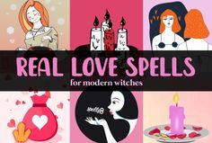 Real Love Spells for Modern Witches! 19 Spells That Work Do Love Spells Work, Free Love Spells, Easy Spells, Love Spell That Work, Powerful Love Spells, Wiccan Spells, Candle Spells, Wiccan Beliefs, Voodoo Spells