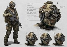 special ops gear | Artist Alex Jessup has come up with some pretty interesting concepts.