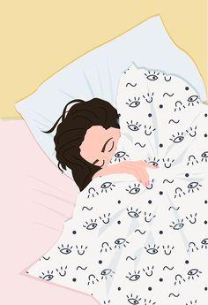 MORNING TROUBLES ~ illustration by Céleste Wallaert