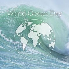 Let's Wave For Change: Reduce, Reuse, & Recycle for a healthy planet. World Ocean Day .