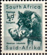 South Africa 1954 Wild Animals Warthog Fine Mint SG 151 Scott 200 Other African Stamps HERE
