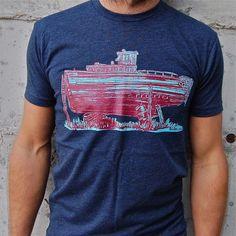 Drydock Tee Navy design inspiration on Fab.