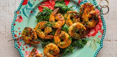 Honey-Garlic Shrimp Skewers by Ree Drummond