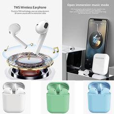 TWS Wireless Bluetooth Earphones-Buy Two Enjoy – liftupmart Pop Up Window, Iphone 10, Iphone Hacks, Wireless Earbuds, Headphones, Noise Reduction, Iphone Accessories, G Shock, Charging Cable
