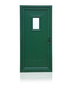 uPVC Door - Green Munster joinery except in grey