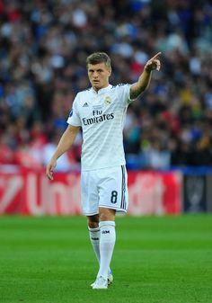 Toni Kroos - Real Madrid v Sevilla, 12th August 2014 - UEFA Super Cup