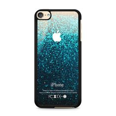 Blue Water Faux Glitter iPod Touch 6 | 6th Gen case – Case Persona