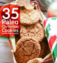 35 Paleo Christmas Cookies