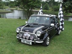 checker mini cooper