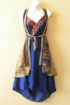 Tibetan magic wrap dress